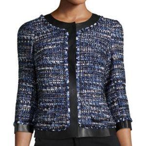 Lafayette 148 tweed blazer size 8